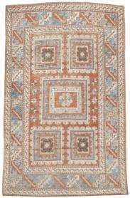 Antique Oushak Rug, No. 18318 - Galerie Shabab