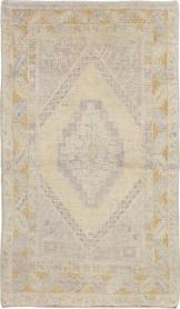 Antique Oushak Rug, No. 18319 - Galerie Shabab