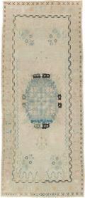 Antique Oushak Rug, No. 18330 - Galerie Shabab