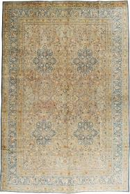 Antique Mashad Carpet, No. 18484 - Galerie Shabab