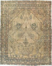Antique Lavar Kerman Carpet, No. 18498 - Galerie Shabab