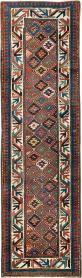 Antique Kazak Runner, No. 18509 - Galerie Shabab