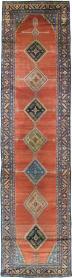 Antique Bakshaish Runner, No. 18510 - Galerie Shabab