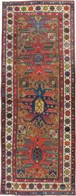 Antique Kazak Rug, No. 18514 - Galerie Shabab