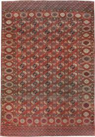 Antique Tekke Rug, No. 18529 - Galerie Shabab