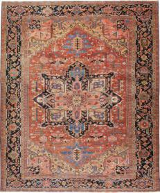 Antique Heriz Rug, No. 18535 - Galerie Shabab