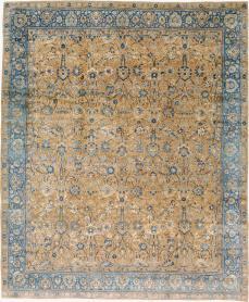 Antique Lavar Kerman Carpet, No. 18559 - Galerie Shabab