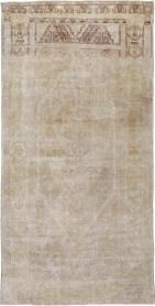 Antique Oushak Rug, No. 18602 - Galerie Shabab