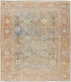 Antique Mahal Rug, No. 18624 - Galerie Shabab