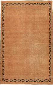 Vintage Mashad Modernist Rug, No. 18641 - Galerie Shabab