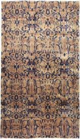 Vintage Lahore Carpet, No. 18650 - Galerie Shabab