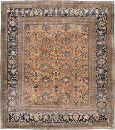 Antique Khorossan Square Carpet, No. 18793 - Galerie Shabab