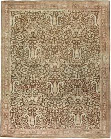 Antique Mashad Carpet, No. 18798 - Galerie Shabab