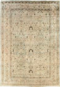 Antique Mashad Carpet, No. 18802 - Galerie Shabab
