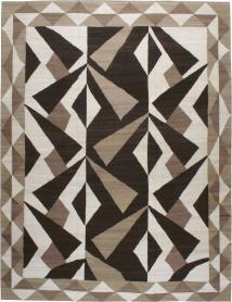 Vintage Modernist Kilim, No. 18890 - Galerie Shabab