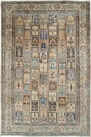 Antique Mashad Carpet, No. 19010 - Galerie Shabab