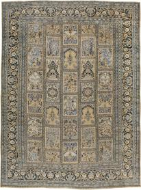 Antique Mashad Carpet, No. 19011 - Galerie Shabab