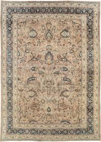 Antique Mashad Carpet, No. 19118 - Galerie Shabab