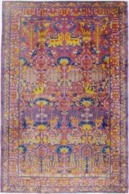 Vintage Lahore Carpet, No. 19184 - Galerie Shabab