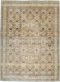 Antique Lavar Kerman Carpet, No. 19237 - Galerie Shabab