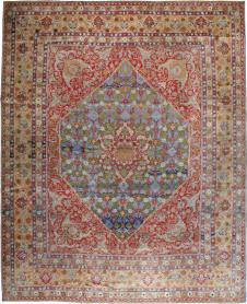 Antique Tabriz Carpet, No. 19943 - Galerie Shabab