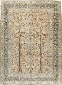 Antique Mashad Carpet, No. 20022 - Galerie Shabab