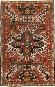Antique Kazak Rug, No. 20076 - Galerie Shabab