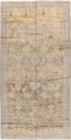 Antique Oushak Gallery Carpet, No. 20093 - Galerie Shabab