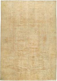 Antique Oushak Carpet, No. 20105 - Galerie Shabab