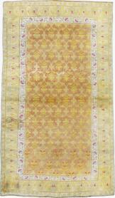 Antique Cotton Agra Rug, No. 20114 - Galerie Shabab