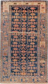 Antique Kirghiz Gallery Carpet, No. 20197 - Galerie Shabab
