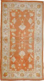 Antique Oushak Rug, No. 20221 - Galerie Shabab