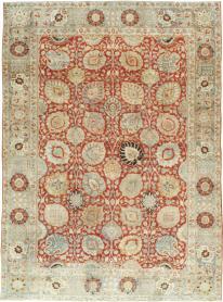 Antiuqe Tabriz Carpet, No. 20304 - Galerie Shabab
