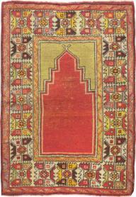 Antique Oushak Rug, No. 20487 - Galerie Shabab