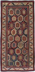 Antique Caucasian Rug, No. 20534 - Galerie Shabab