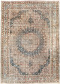 Vintage Persian Mashad Rug, No. 20545 - Galerie Shabab