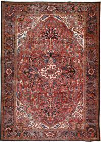 Antique Heriz Carpet, No. 20566 - Galerie Shabab