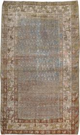 Antique Malayer Distressed Rug, No. 20647 - Galerie Shabab