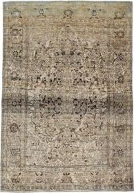 Antique Isfahan Rug, No. 20707 - Galerie Shabab
