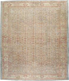 Antique Mahal Square Carpet, No. 20765 - Galerie Shabab