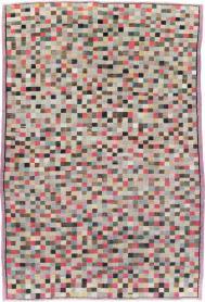 Vintage Anatolian Distressed Rug, No. 20840 - Galerie Shabab