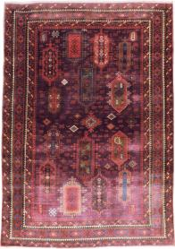 Antique Agra Carpet, No. 21030 - Galerie Shabab