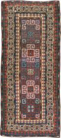 Antique Kazak Rug, No. 21065 - Galerie Shabab