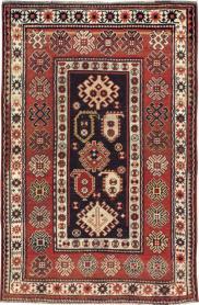 Antique Kazak Rug, No. 21079 - Galerie Shabab