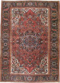 Vintage Heriz Carpet, No. 21148 - Galerie Shabab