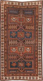 Antique Kazak Rug, No. 21183 - Galerie Shabab