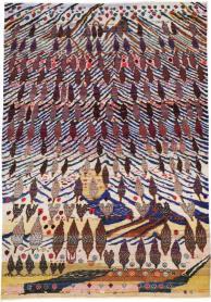 Vintage Kashan Rug, No. 21220 - Galerie Shabab
