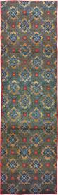 Vintage Kashan Runner, No. 21221 - Galerie Shabab