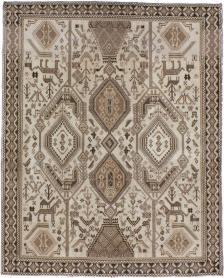 Antique Afshar Rug, No. 21290 - Galerie Shabab