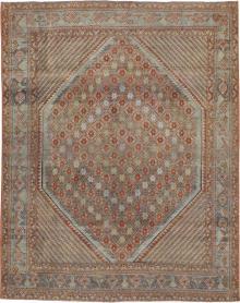 Antique Afshar Rug, No. 21310 - Galerie Shabab